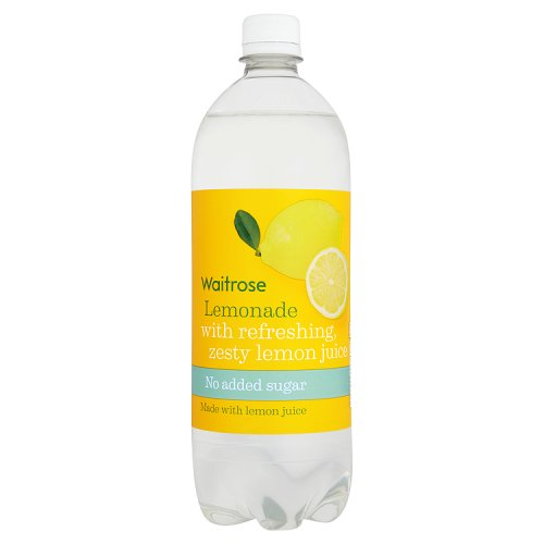 Waitrose Lemonade with Juice No Added Sugar