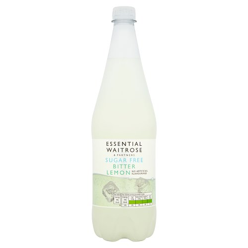 essential Waitrose Sugar Free Bitter Lemon