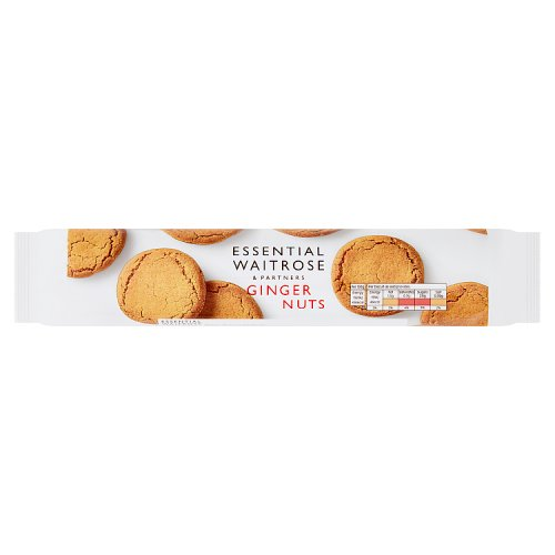 essential Waitrose Biscuits Ginger Nuts
