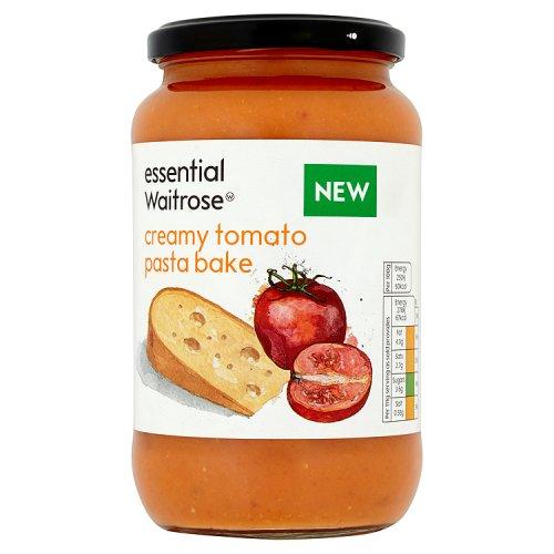 essential Waitrose Creamy Tomato Pasta Bake