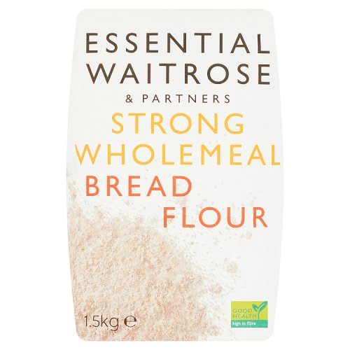 essential Waitrose Strong Wholemeal Bread Flour