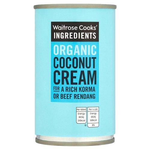 Waitrose Cooks Ingredients Organic Coconut Cream