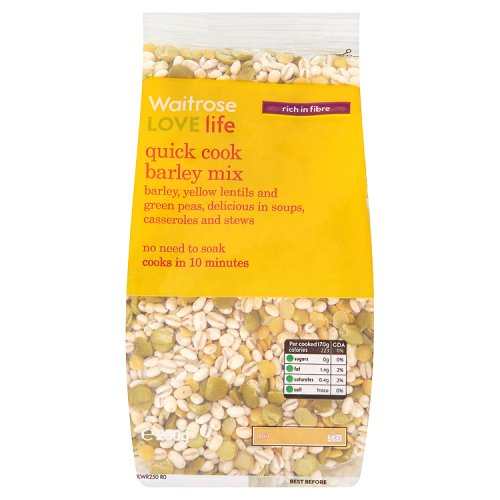 Waitrose LOVE life Quick Cook Barley Mix