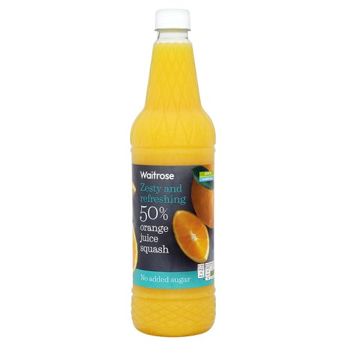Waitrose No Added Sugar 50% Orange Juice