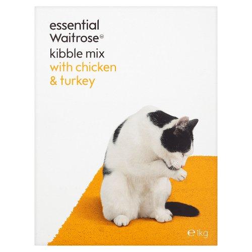 Essential Waitrose Cat Food Chicken Amp Turkey Kibble Mix