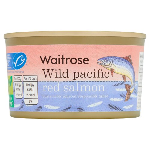 essential Waitrose Wild Red Salmon