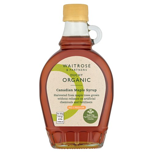Waitrose Organic Maple Syrup No 1
