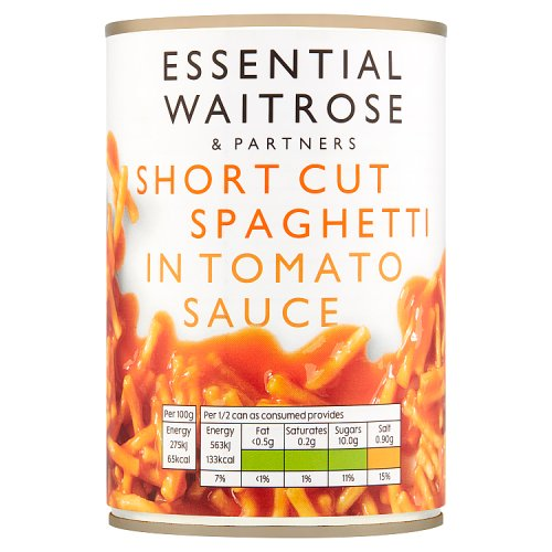 essential Waitrose Short Cut Spaghetti