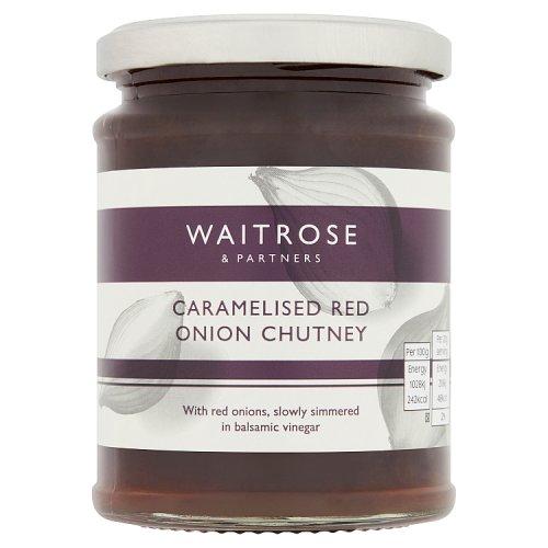 Waitrose Caramelised Red Onion Chutney