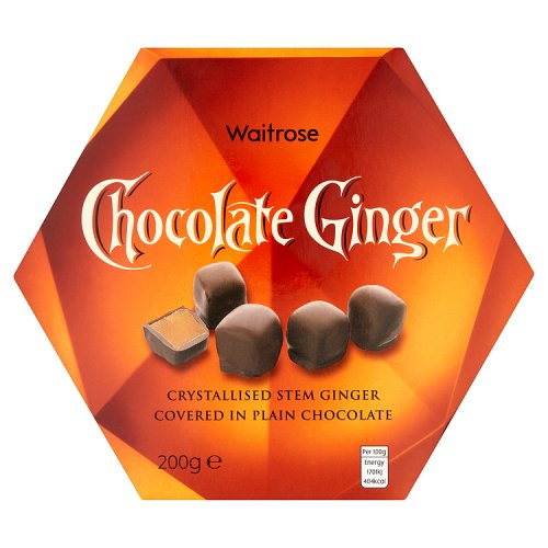 Waitrose Chocolate Ginger Box