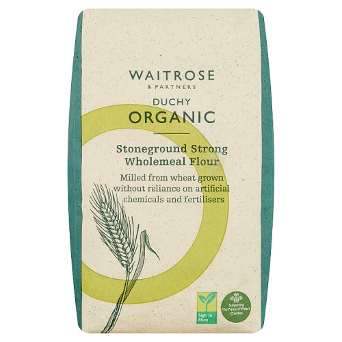 Waitrose Duchy Organic Strong Wholemeal Bread Flour