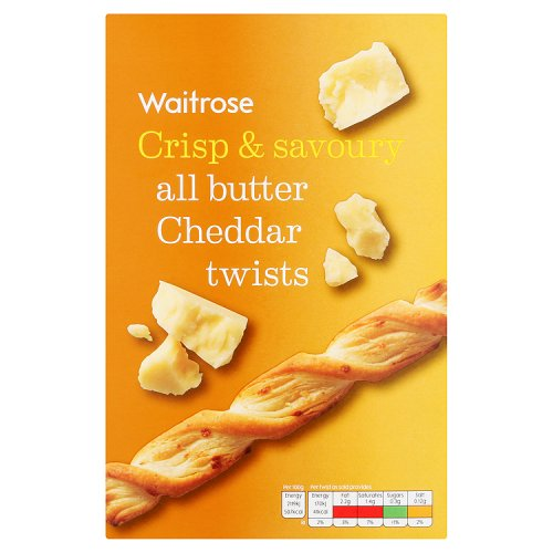 Waitrose All Butter Cheese Twists