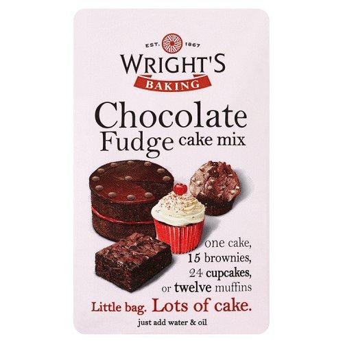 Wrights Chocolate Fudge Cake Mix