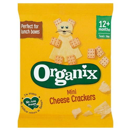 Organix 12 Month Cheese Crackers Single