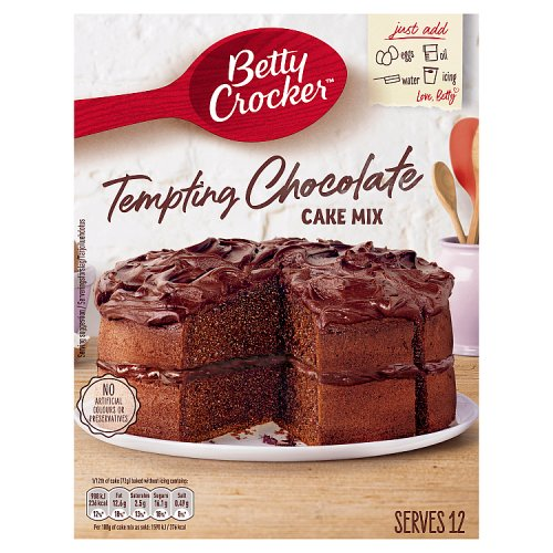 Chocolate Sponge Cake Betty Crocker