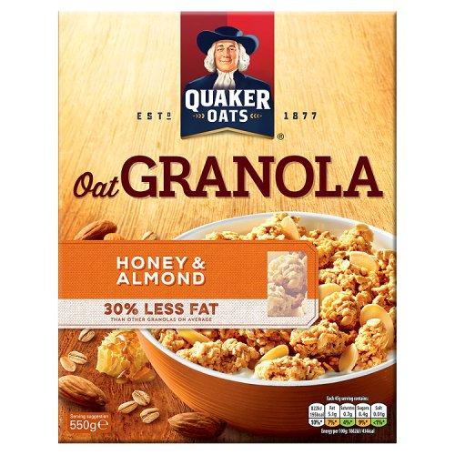 Quaker Oat Granola Honey & Almond