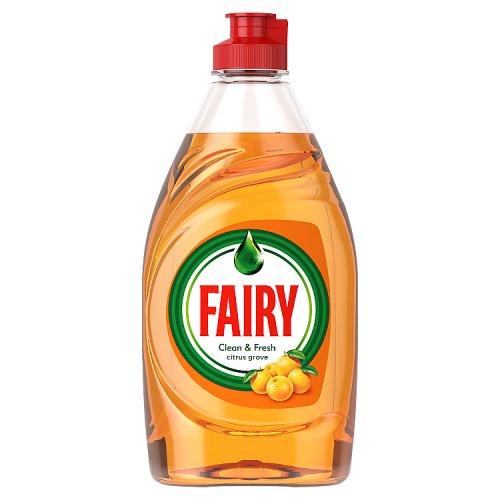 Image of Fairy Citrus Grove Washing Up Liquid