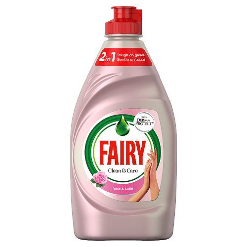 Fairy Clean & Care Rose Washing Up Liquid