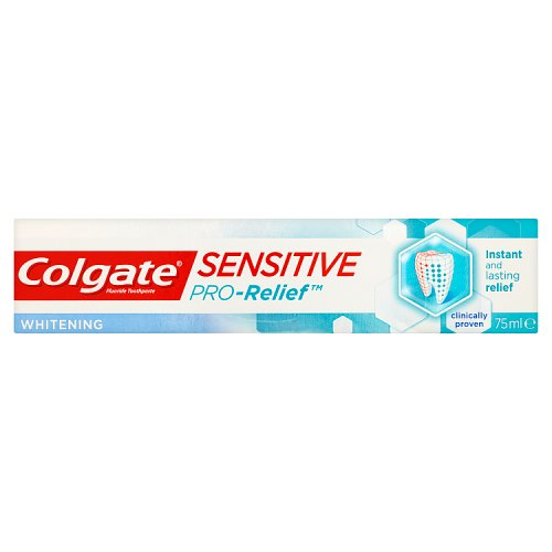 Best Whitening Toothpaste >> Colgate Sensitive Pro Relief Plus Whitening Toothpaste