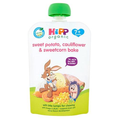Hipp 7 Month Organic Sweet Potato  Cauliflower & Sweetcorn Pouch