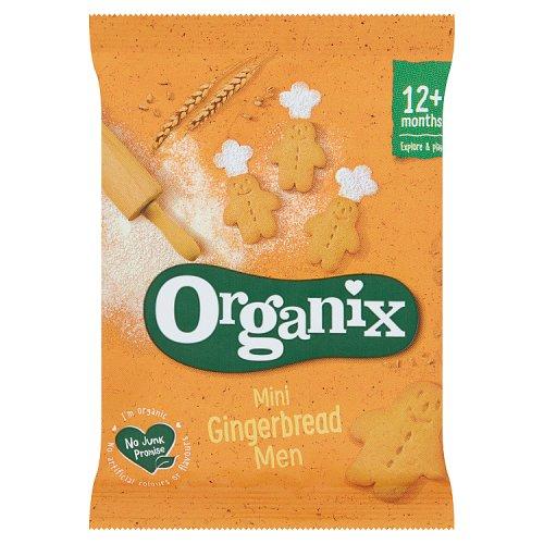 Organix Goodies Mini Gingerbread Men Singles