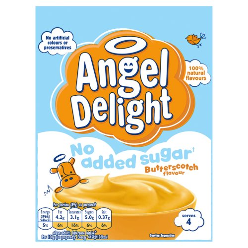 Angel Delight No Added Sugar Butterscotch