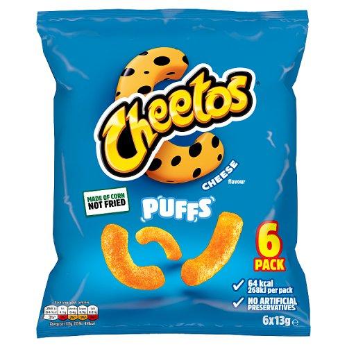 Cheetos Cheese Puffs 8 Pack Crisps Multi Packs