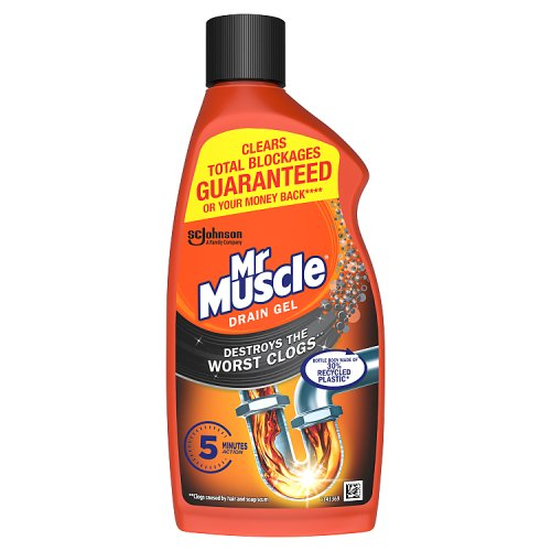 Mr Muscle Kitchen & Bathroom Drain Gel