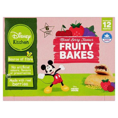 Annabel Karmel 12 Month Fruity Bakes Raspberry 6 Pack
