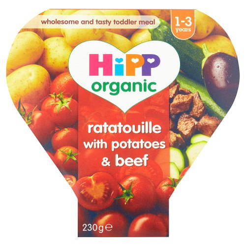 Hipp 12 Month Organic Ratatouille with Potatoes & Beef Tray