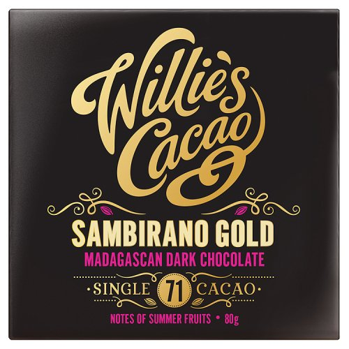 Willies Cacao Madagascan Gold Dark Chocolate