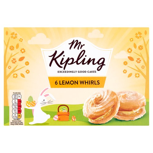 Mr Kipling Lemon Viennese Whirls 6 Pack