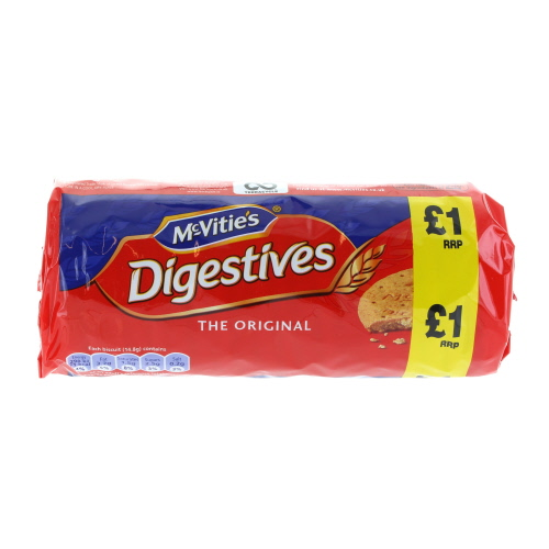 Mcvities Digestives Price Marked