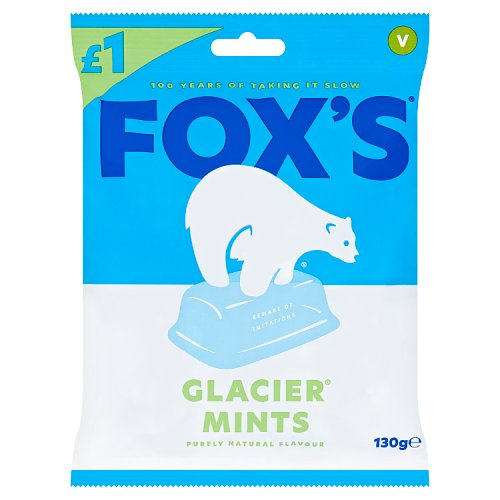Foxs Glacier Mints Price Marked