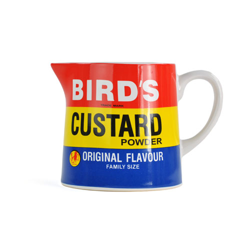 Image of Birds Custard Jug