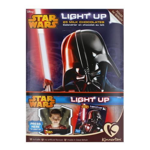 Kinnerton Star Wars Light Up Advent Calendar