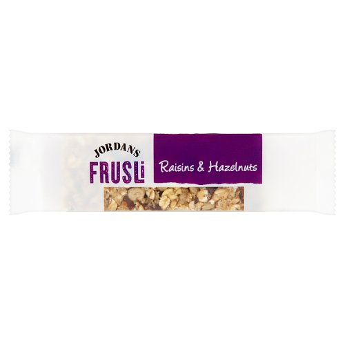 Jordans Frusli Raisin & Hazelnut Bar