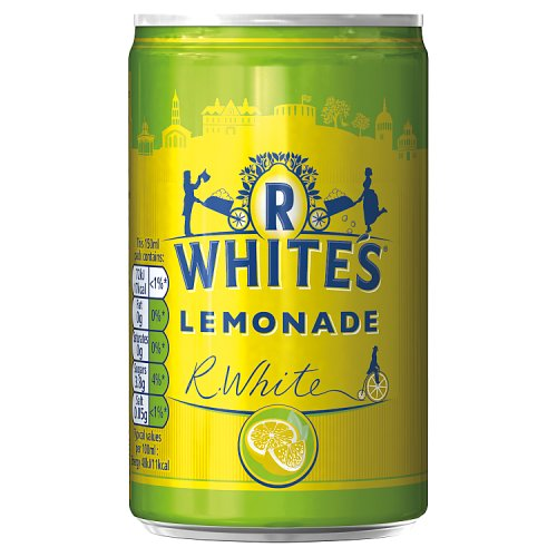 R Whites Lemonade Small Can