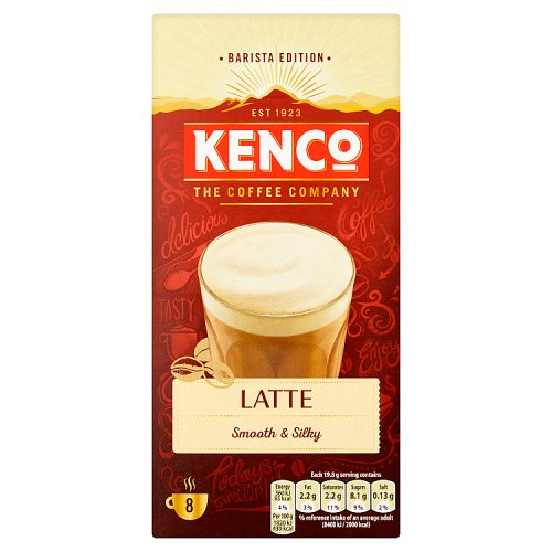 Kenco Caffe Latte 8 Sachets