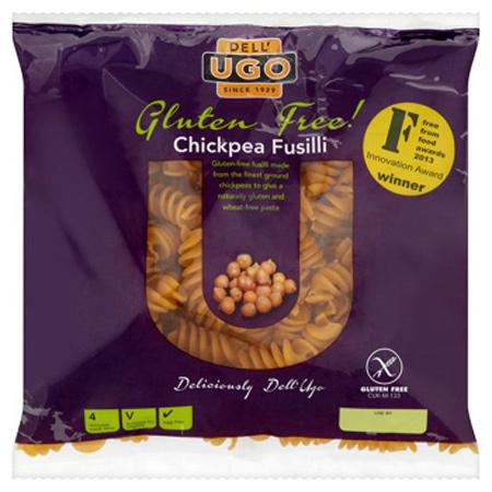 Dell Ugo Gluten Free Chickpea Fusilli Fresh Pasta