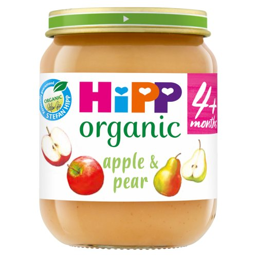 Hipp 4 Month Organic Apple & Pear Pudding Jar