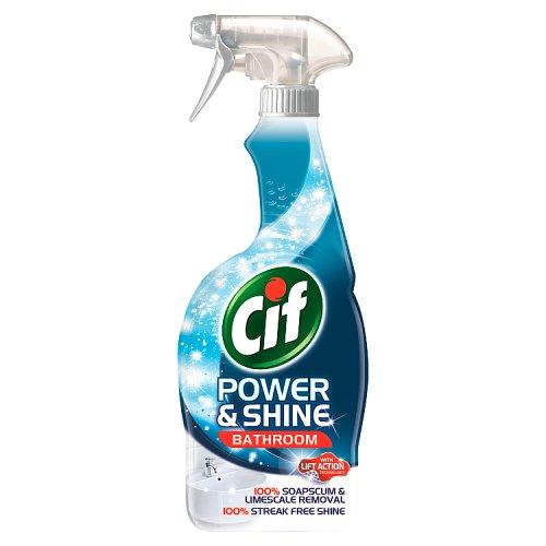 Cif Power Amp Shine Bathroom Spray