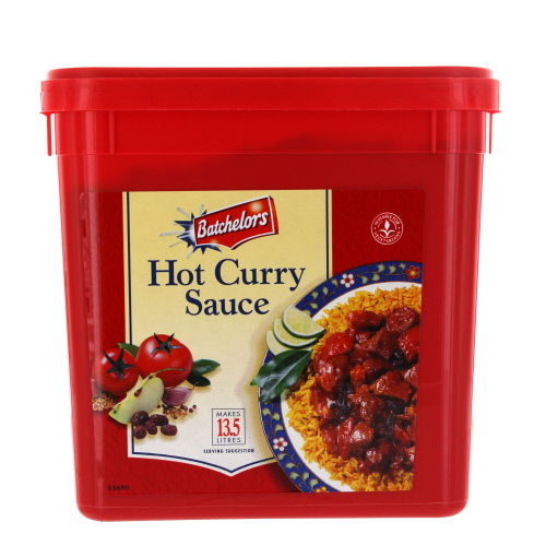 Batchelors Hot Curry Sauce Large Tub