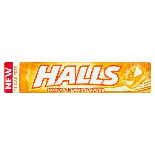 Halls Honey & Lemon 9s