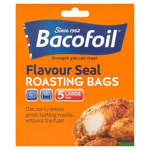 Image of Bacofoil Large Oven Bags Easy Roast 5 Pack