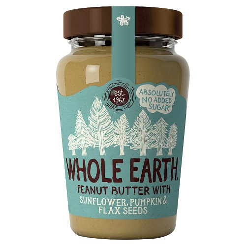Whole Earth Smooth Peanut Butter Mixed Seeds