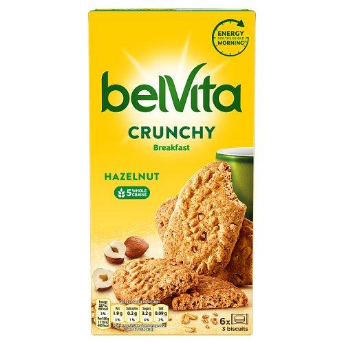 Belvita Crunchy Hazelnuts 6 Pack