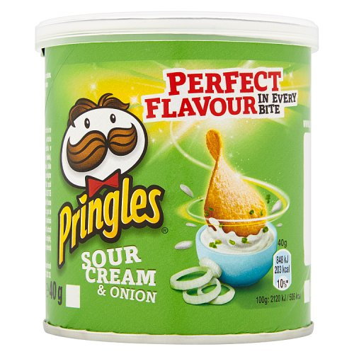 Pringles Sour Cream & Onion Small