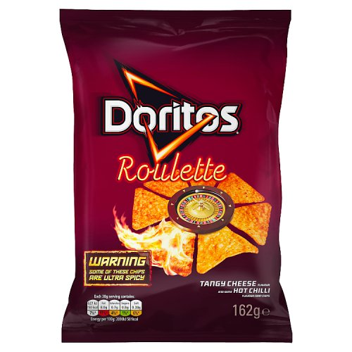 Doritos roulette tangy cheese hot chilli for Sweet home 3d chip