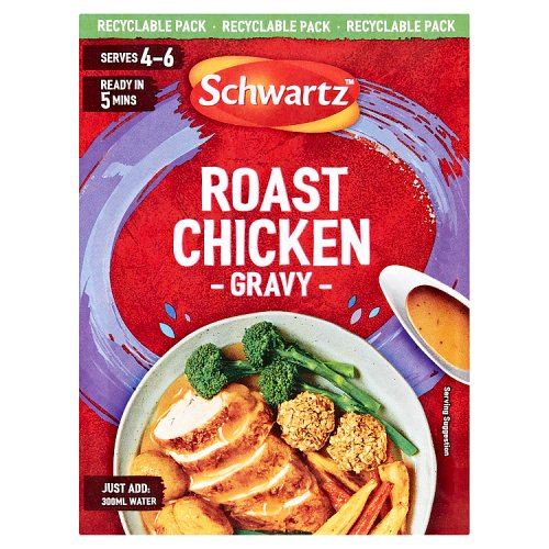 Schwartz Classic Roast Chicken Gravy Mix